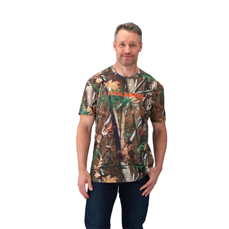 Men's Short-Sleeve Camo Tee with Polaris® Logo