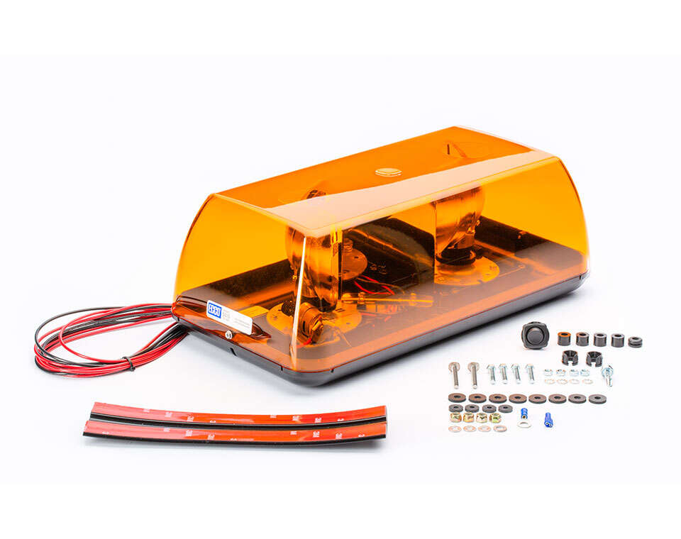 Amber Security Light Bar