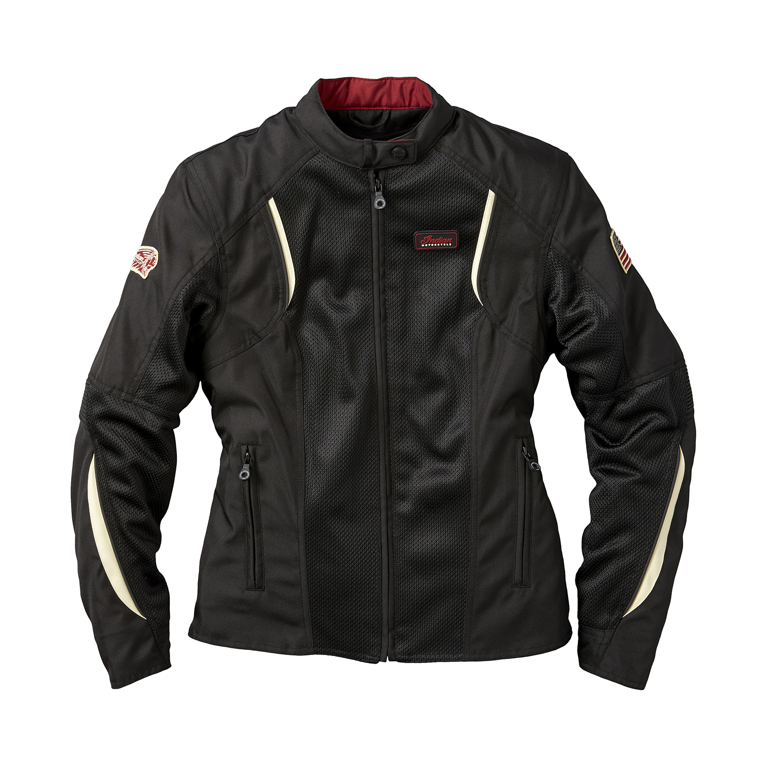 Women's Mesh Springfield 2 Riding Jacket with Removable Lining, Black