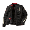 Women's Mesh Springfield 2 Riding Jacket with Removable Lining, Black - Image 2 of 8