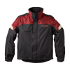 Two-Piece Waterproof and Breathable Rainsuit, Black/Red - Image 1 of 7
