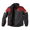 Two-Piece Waterproof and Breathable Rainsuit, Black/Red - Image 7 of 7