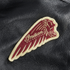 Men's Horsehide Leather Liberty Riding Jacket with Removable Lining, Black - Image 5 of 6