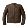 Men's Leather Phoenix Riding Jacket with Removable Lining, Brown - Image 1 of 10