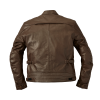 Men's Leather Phoenix Riding Jacket with Removable Lining, Brown - Image 3 of 10