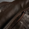 Men's Leather Phoenix Riding Jacket with Removable Lining, Brown - Image 10 of 10