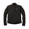Men's Denim Atlanta Riding Jacket, Black - Image 1 of 9