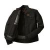 Men's Denim Atlanta Riding Jacket, Black - Image 2 of 9