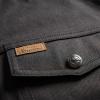 Men's Denim Atlanta Riding Jacket, Black - Image 4 of 9