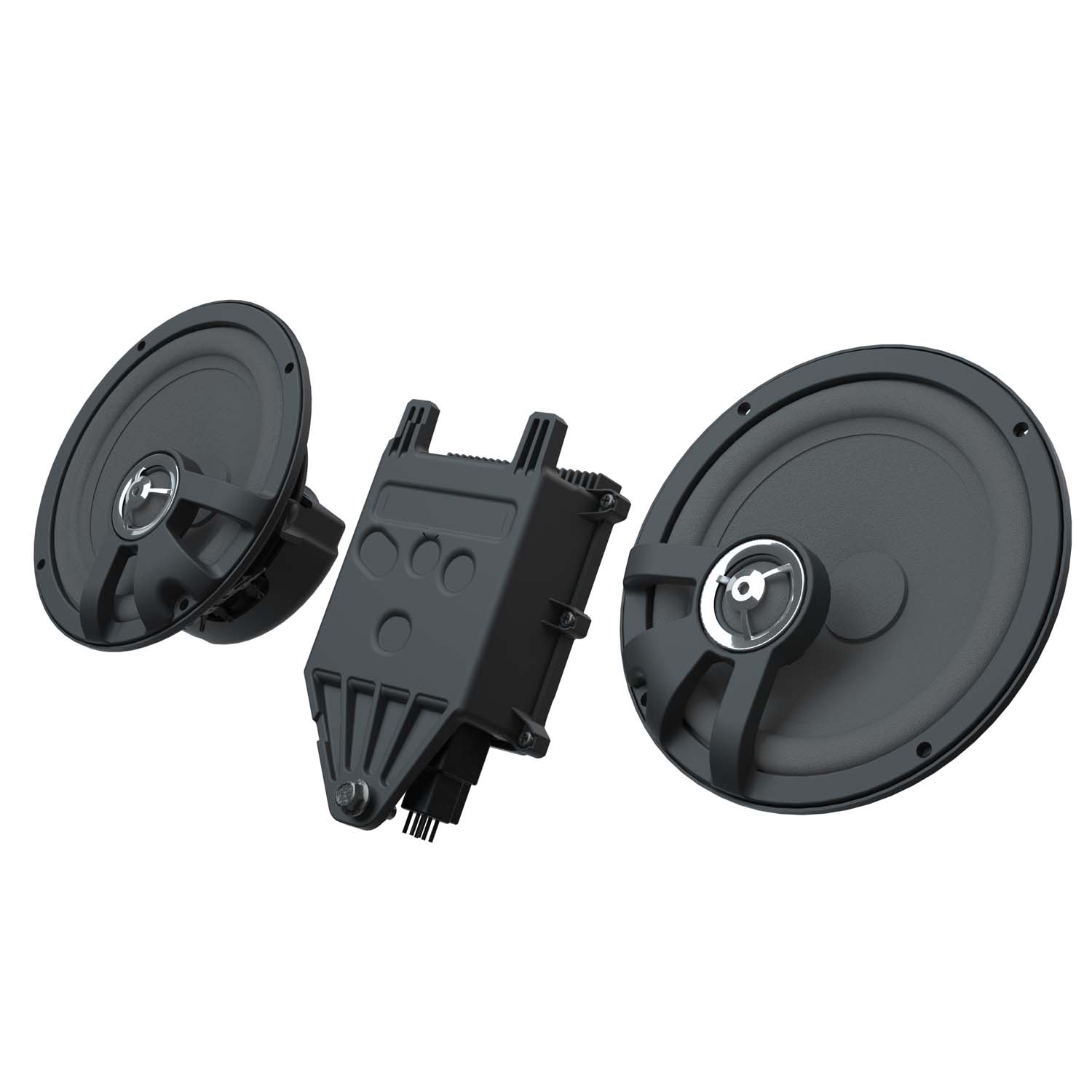 "PowerBand™ Audio Plus 6 1/2"" Amplified Speaker Kit"