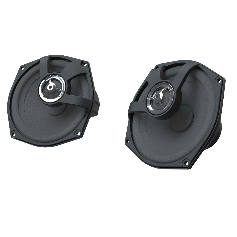 "PowerBand™ Audio 5 1/4"" Quick Release Trunk Amplified Speaker Kit"