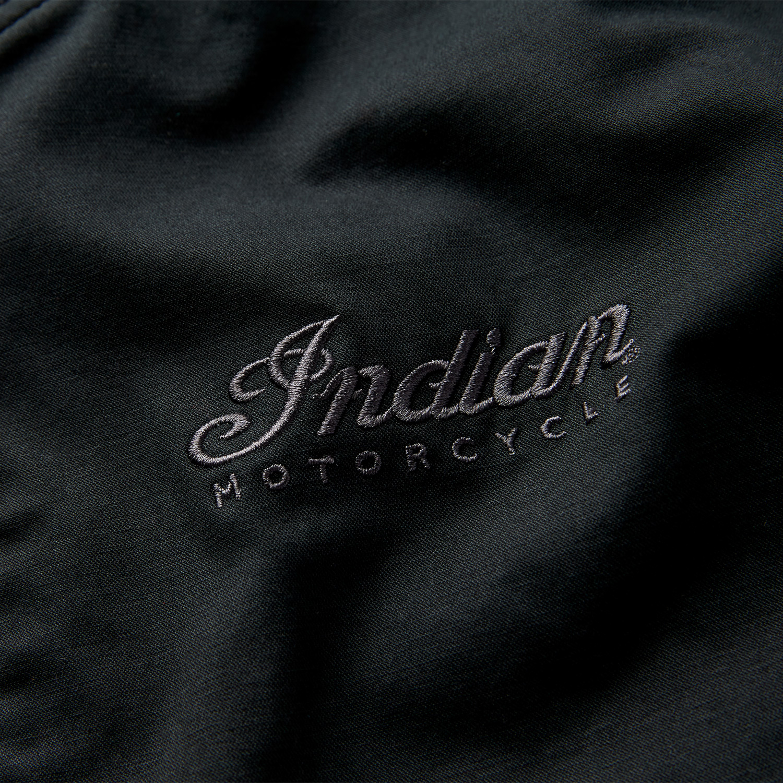 miniature 11 - Indian Motorcycle Men's Casual Bomber Jacket, Black