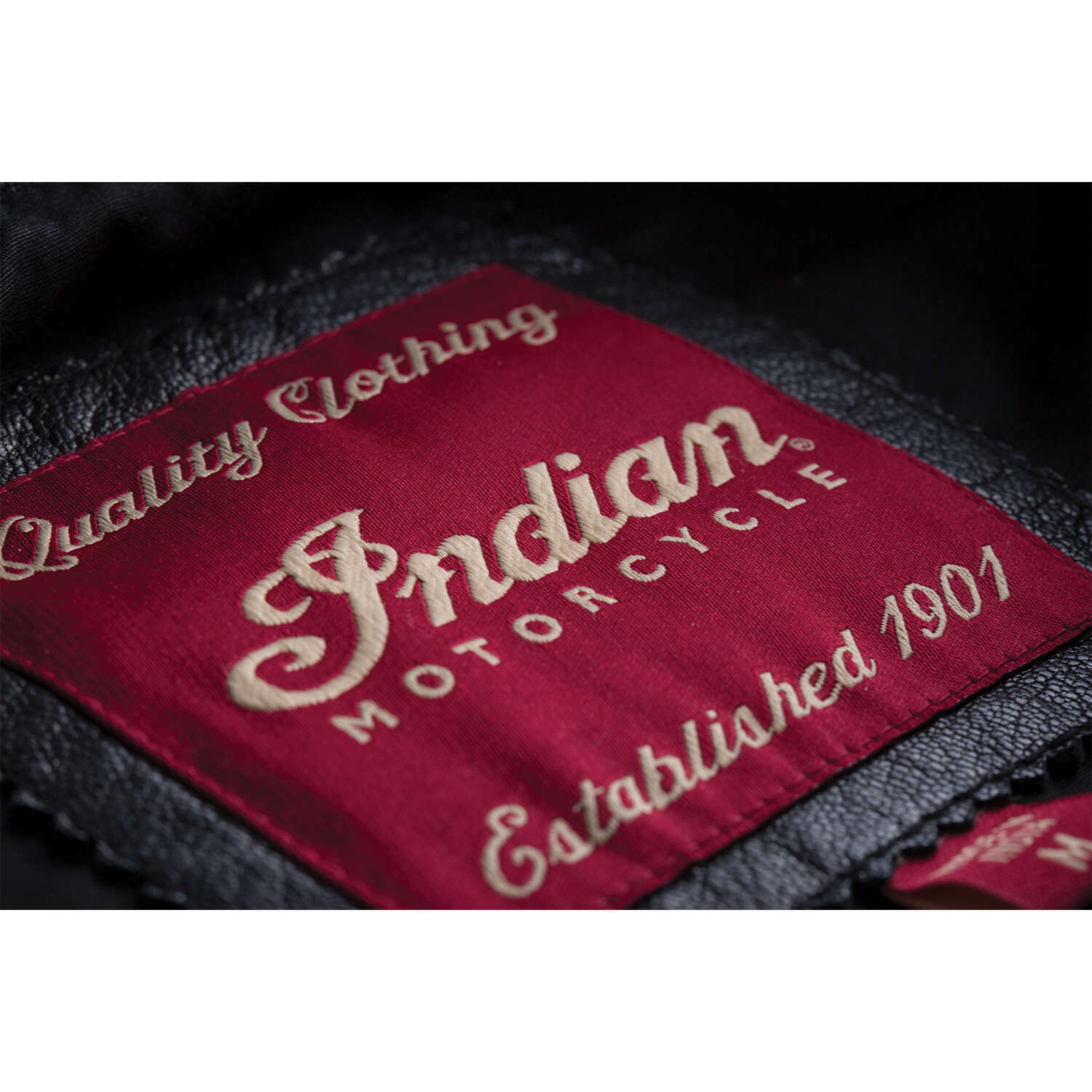 miniature 13 - Indian Motorcycle Men's Casual Zip-Up Outsider Leather Vest, Black