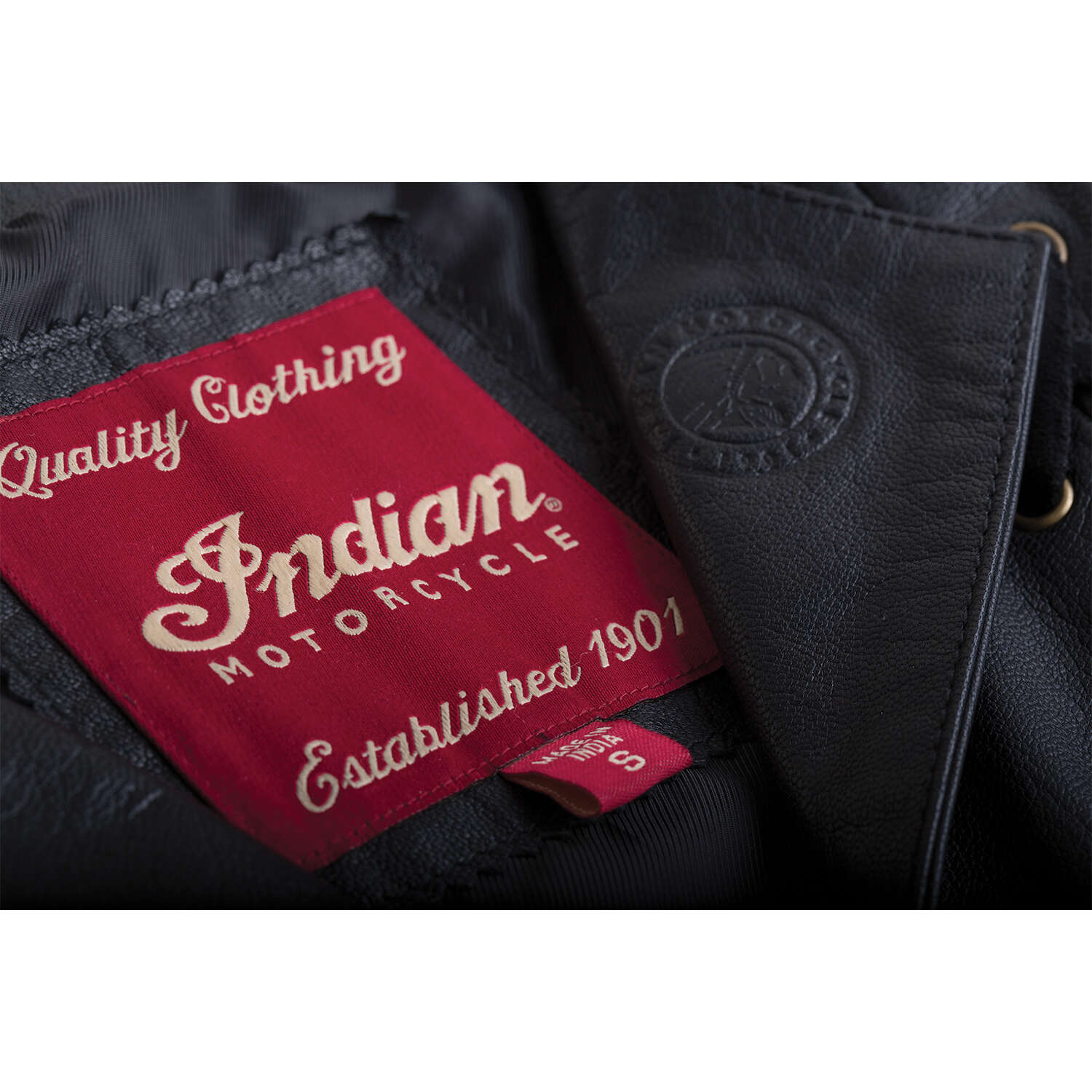 miniature 9 - Indian Motorcycle Women's Casual Zip-Up Leather Vest with Laced Detail