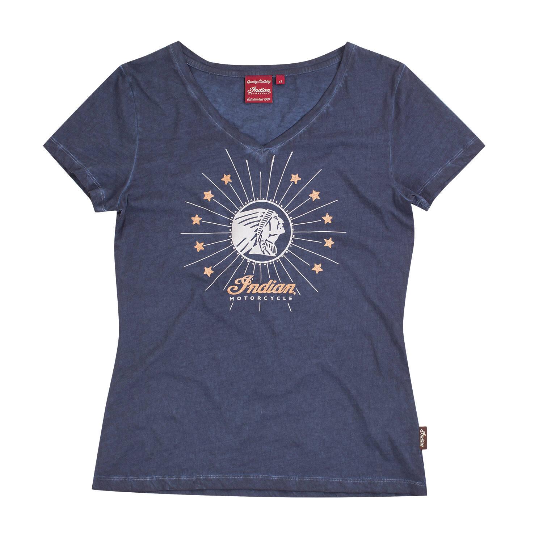 Women's Diamante Icon T-Shirt, Navy