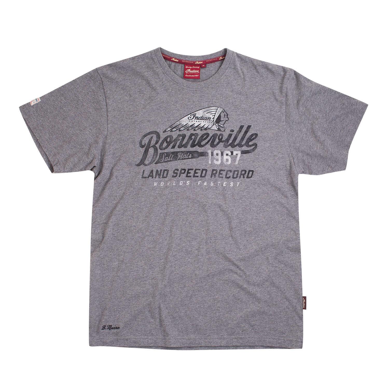 Men's Bonneville Salt Flat Munro T-Shirt, Gray Marl