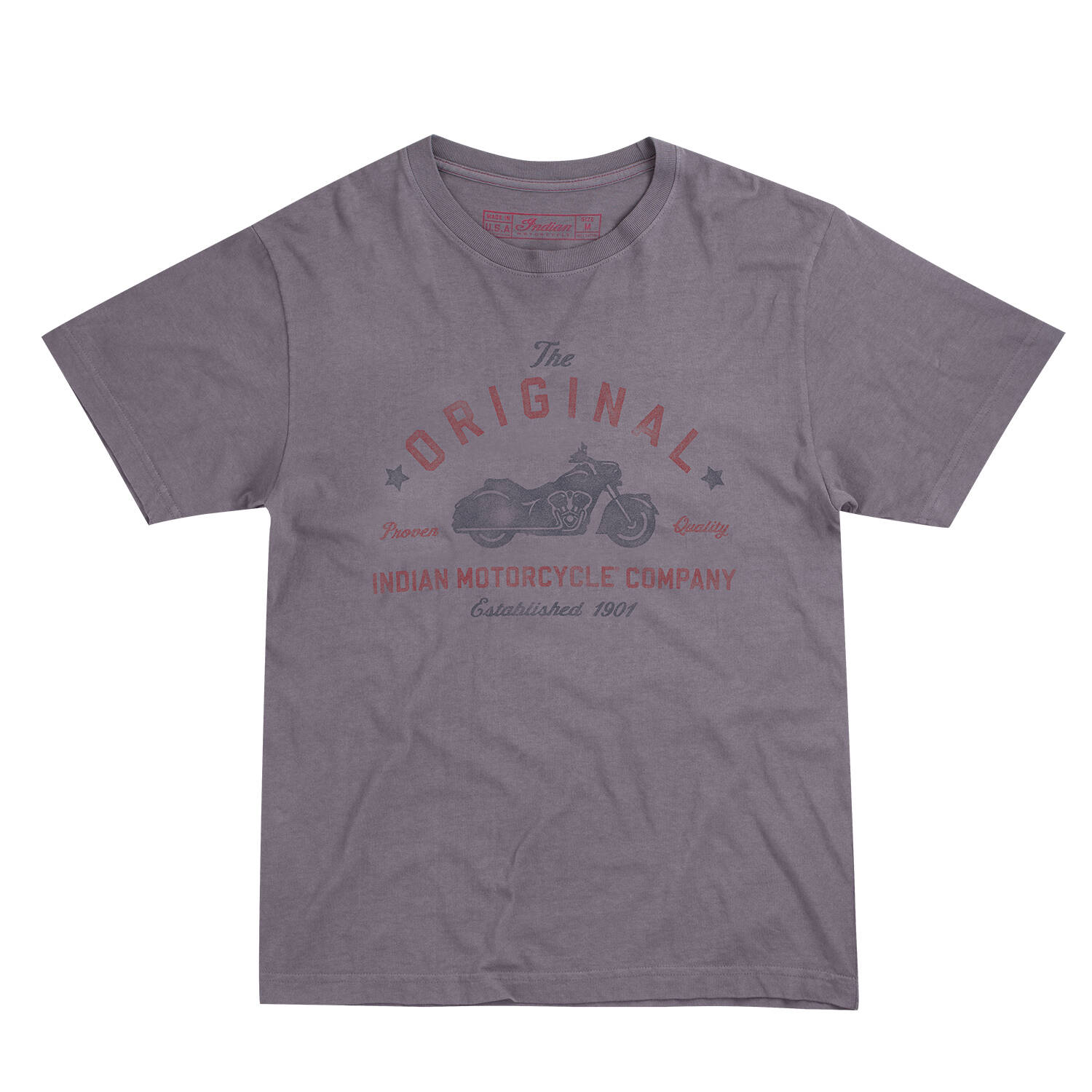 T-Shirt Black Long Sleeve All Size INDIAN MOTORCYCLE T American Motorcycle Log