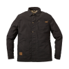 Men's Casual Canvas Ravel Utility Jacket, Washed Black - Image 1 of 2