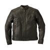 Men's Leather Phoenix Riding Jacket with Removable Lining, Black - Image 2 of 7
