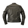 Men's Leather Phoenix Riding Jacket with Removable Lining, Black - Image 4 of 7
