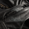 Men's Leather Phoenix Riding Jacket with Removable Lining, Black - Image 7 of 7