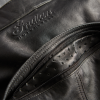 Men's Leather Phoenix Riding Jacket with Removable Lining, Black - Image 6 of 7