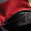 Men's Textile Flat Track Racing Riding Jacket with Removable Lining, Black/Red - Image 5 of 7