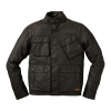 Men's Casual Coated Canvas Lexington Jacket, Black - Image 2 of 3