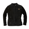 Women's Suede Bessie Casual Jacket, Black - Image 1 of 2