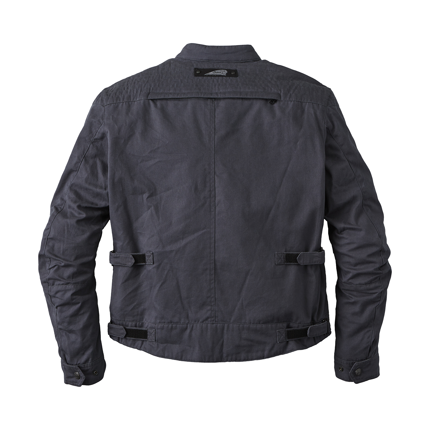 miniature 10 - Indian Motorcycle Men's Waxed Cotton Sacramento Riding Jacket with Removable