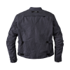 Men's Waxed Cotton Sacramento Riding Jacket with Removable Lining, Black - Image 3 of 7