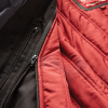 Men's Waxed Cotton Sacramento Riding Jacket with Removable Lining, Black - Image 4 of 7