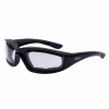 Riding Freeway Sunglasses with Clear Lens, Black - Image 1 of 4