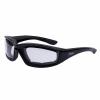 Riding Freeway Sunglasses with Clear Lens, Black - Image 1 de 4