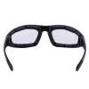 Riding Freeway Sunglasses with Clear Lens, Black - Image 4 de 4