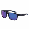 Casual Atlanta Sunglasses with Blue Revo Lens, Black - Image 1 of 4