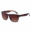 Casual Phoenix Sunglasses with Tortoise Shell Frame, Black - Image 1 de 4