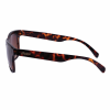Casual Phoenix Sunglasses with Tortoise Shell Frame, Black - Image 4 de 4