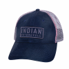 Block Patch Trucker Hat, Navy - Image 1 of 1
