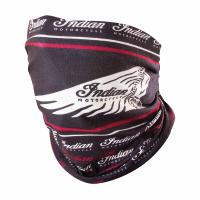 Printed Multifunctional Scarf/Bandana, Gaiter/Headband, Black