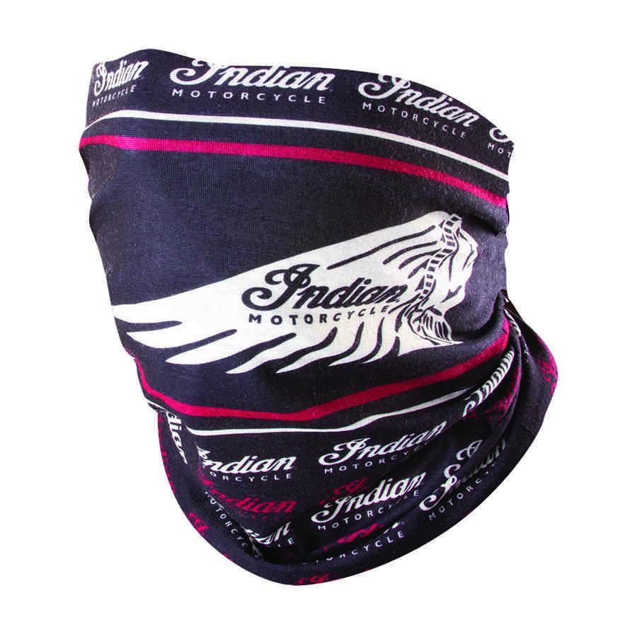 Headdress Multifunctional Headwear, Black/Red