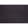Leather Tri-Fold Wallet with Embossed Logo, Black - Image 5 of 5