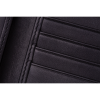 Leather Tri-Fold Wallet with Embossed Logo, Black - Image 3 of 5