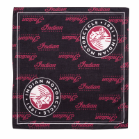 Pet Bandana with Printed logos, 2-Pack, Red/Black