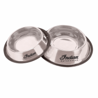 Indian Motorcycle® Silver Pet Feeding Bowls - 2 Pack