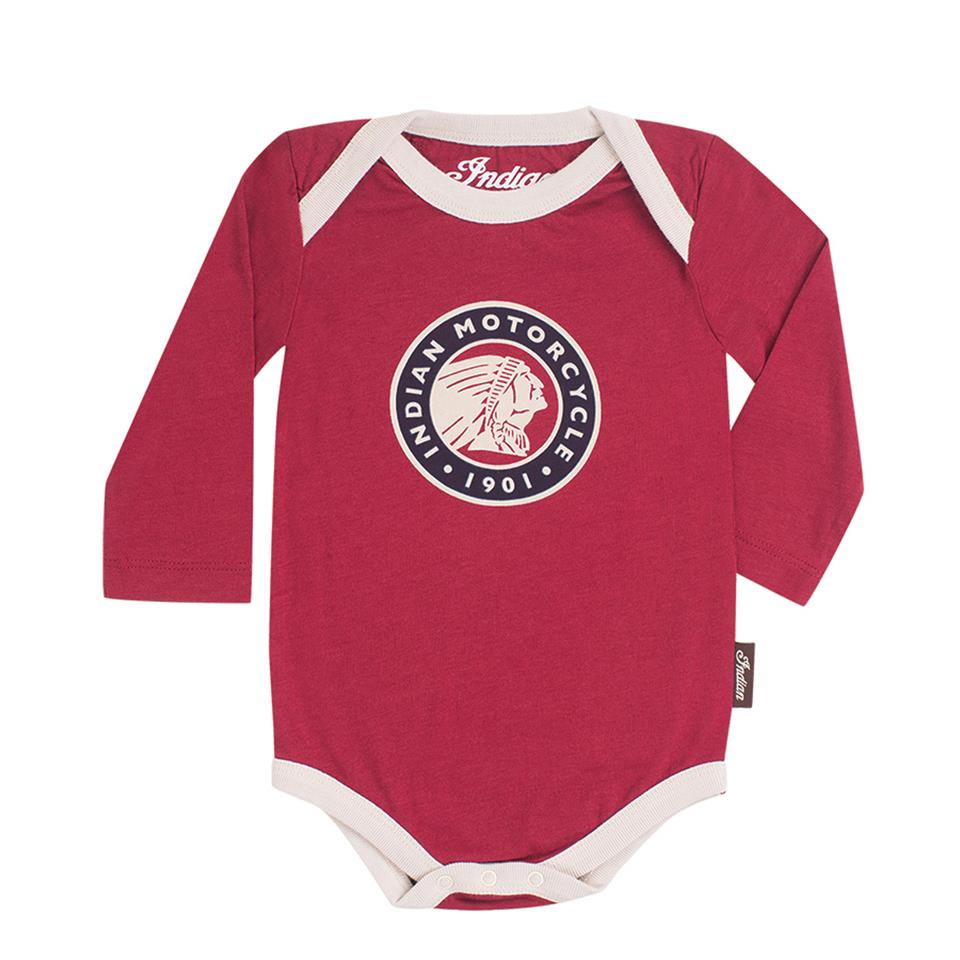 Infant Long-Sleeve Bodysuit, 3-Pack, Multiple colors