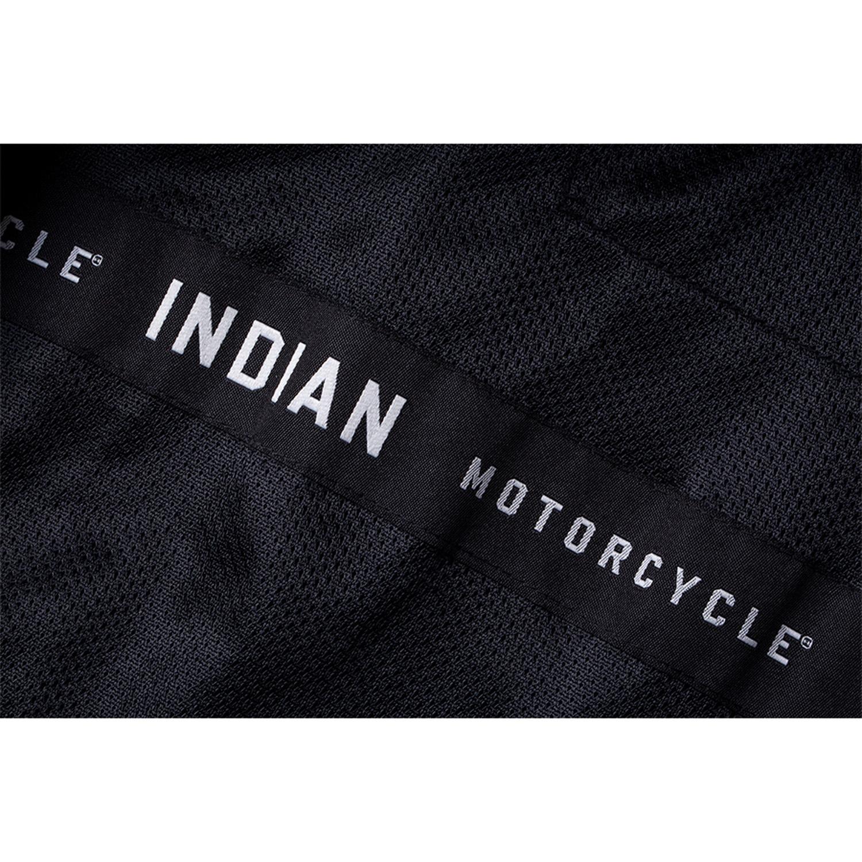 miniature 24 - Indian Motorcycle Men's Leather Denton Jacket, Black