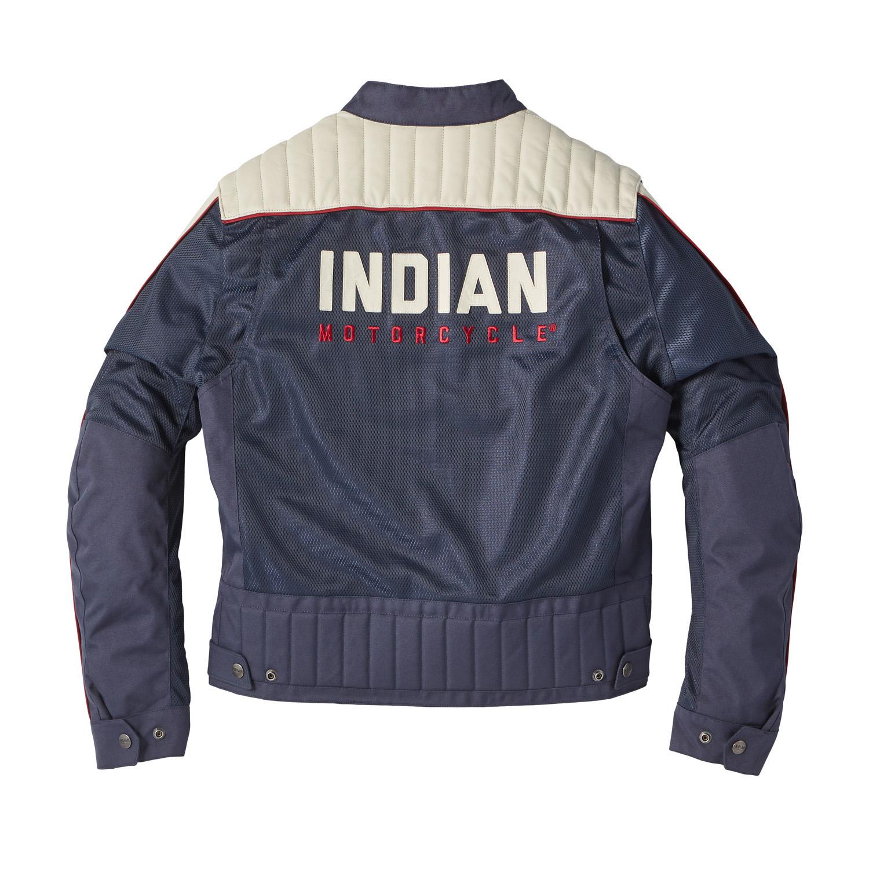 miniature 9 - Indian Motorcycle Men's Mesh Arizona Jacket, Blue
