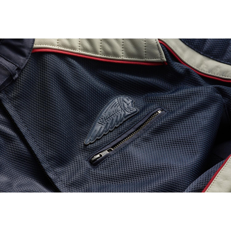 miniature 11 - Indian Motorcycle Men's Mesh Arizona Jacket, Blue
