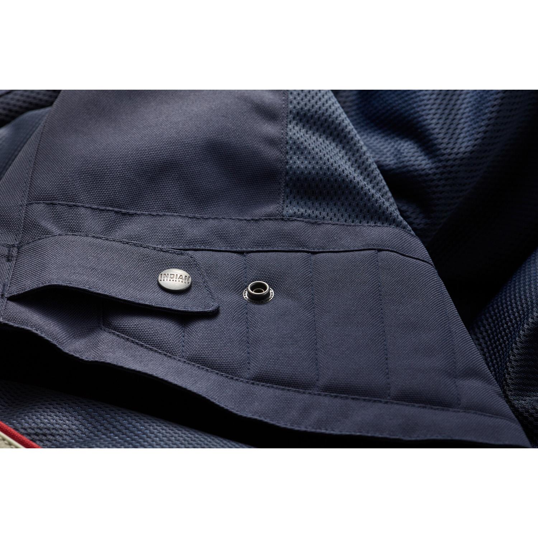 miniature 13 - Indian Motorcycle Men's Mesh Arizona Jacket, Blue